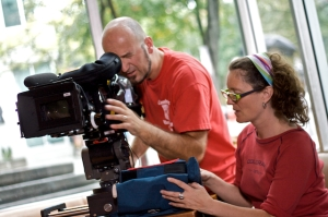 Pieter Stathis (DOP) and Me (AD)