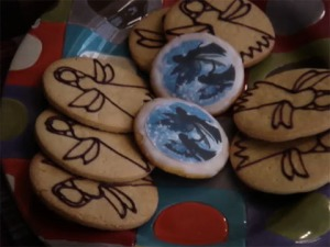 The Lyceum provided custom made faerie cookies