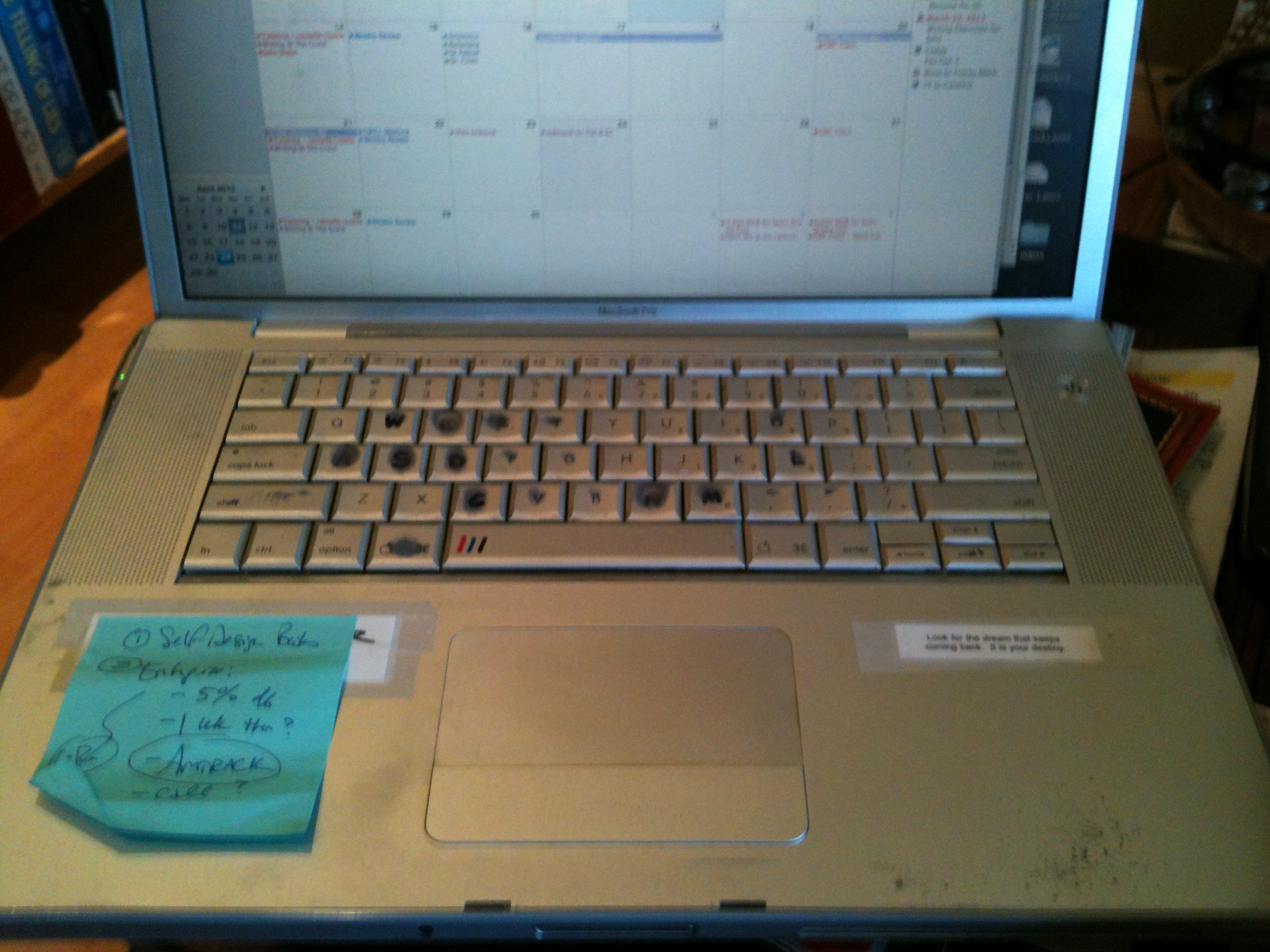 Laptop Keeps Writing Letters On Its Own